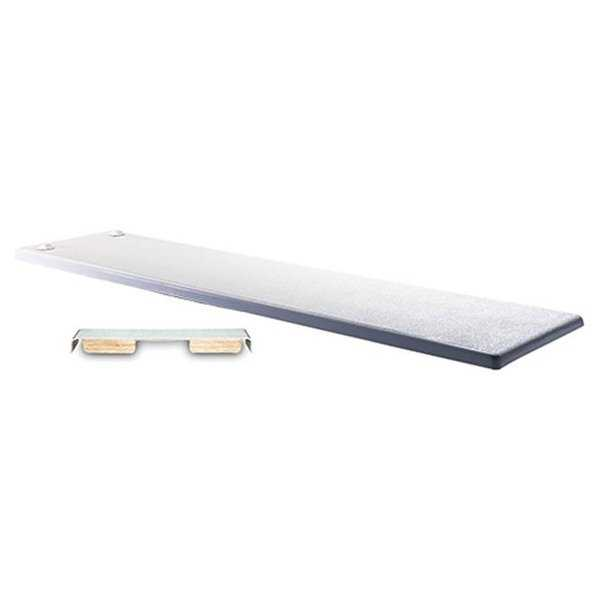 Inter-Fab Duro-Beam 6 Ft. Durobeam Diving Board, White With