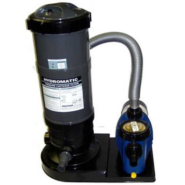 Blue Wave NE636 Hydro 120 sf Cartridge System with 1.5 HP Pump